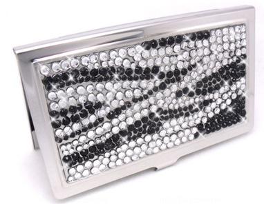 zebra crystal case