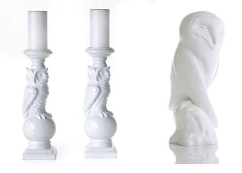 z gallerie ceramic owls