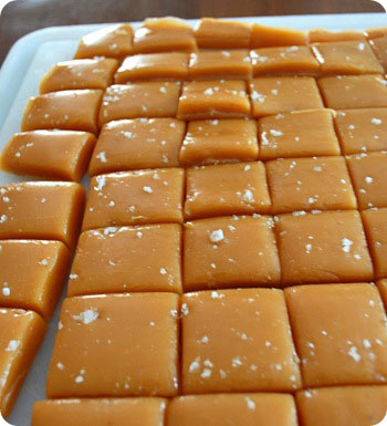 cut into squares