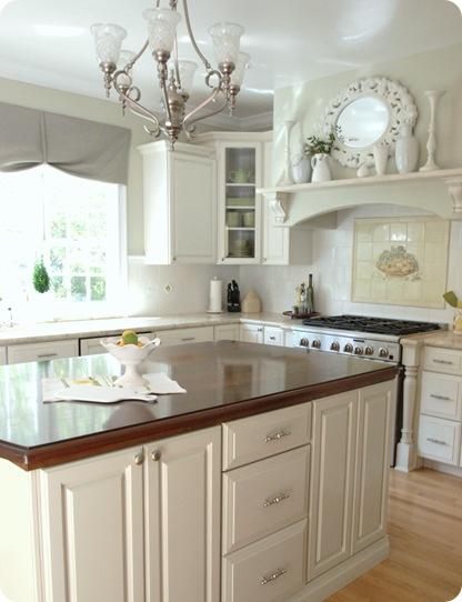 kitchen island painted