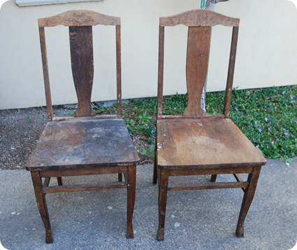 chairs before 2