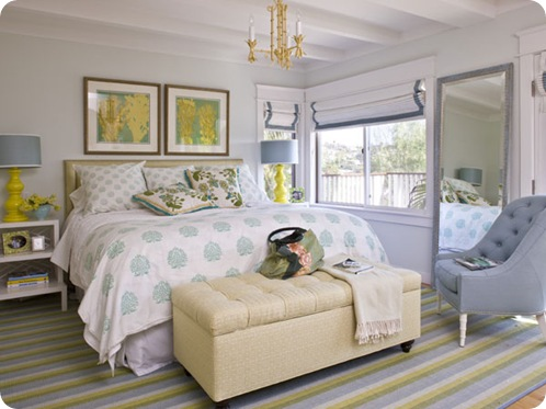 coastal living bedroom border shades