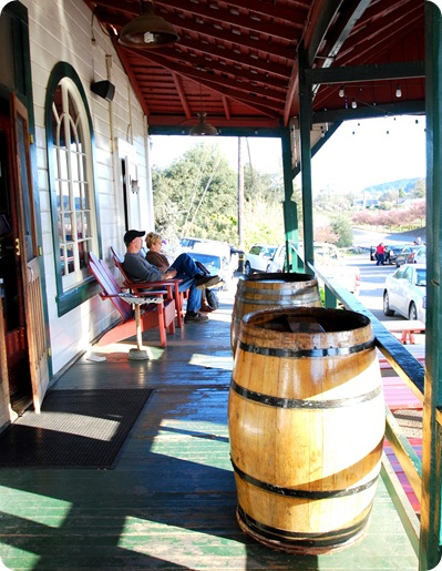 dry creek general store porch