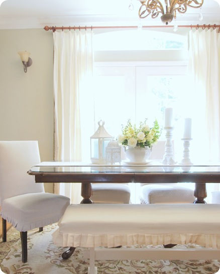 neutral dining room