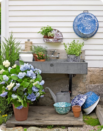 potting sink country living