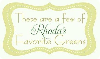 rhodas greens