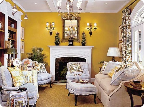 southern living chartreuse wall
