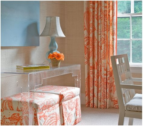 color spotlight orange with blue centsational style. Black Bedroom Furniture Sets. Home Design Ideas