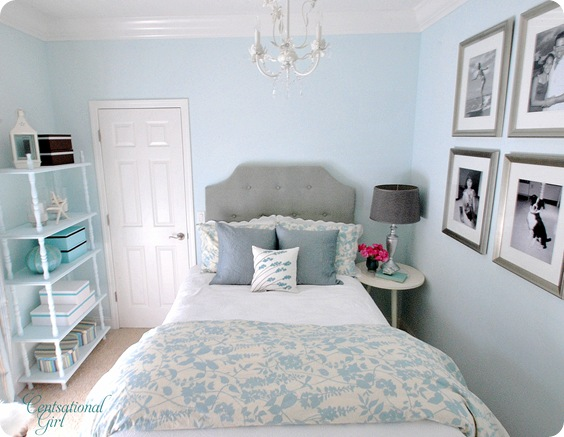 cg headboard and bedding