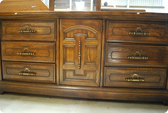 paneled dresser