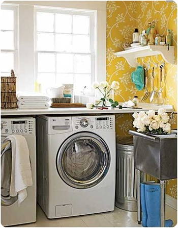 cottage living laundry room