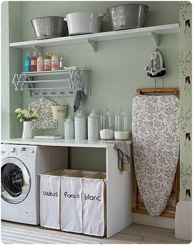 house beautiful laundry