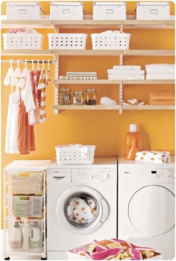 laundry room apartment therapy