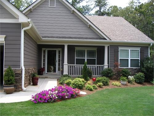 Curb Appeal: Eight Weekend DIY Projects | Centsational Girl on Basic Landscaping  id=89526