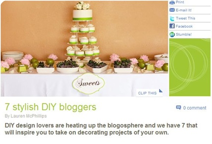 stylish diy bloggers
