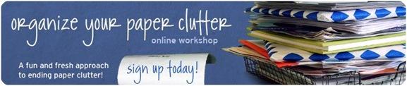 paper clutter header