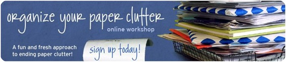 paper clutter workshop