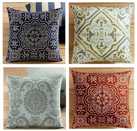 rh pillows set
