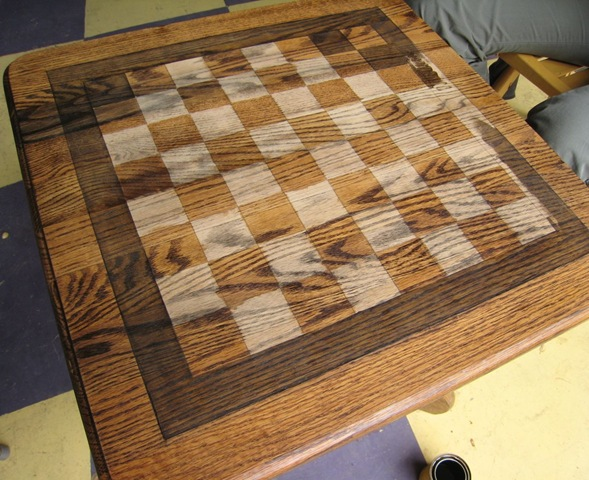 Diy Chess End Table Centsational Style