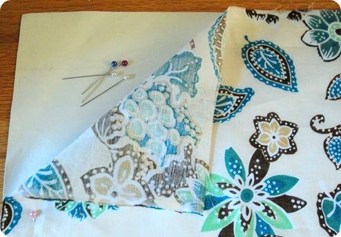 stitch blackout to fabric