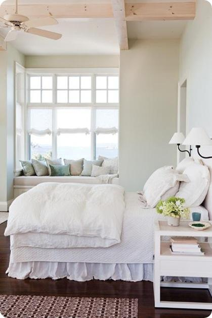 all white bedroom dark floors  myideal home
