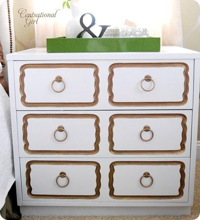 cg draper dresser knock off in white