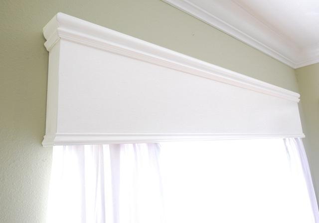 White Wood Cornice : Playroom color cornice centsational style