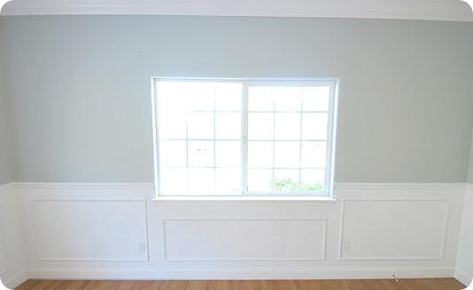 panel and picture frame wainscoting 3