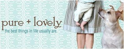 pure and lovely banner