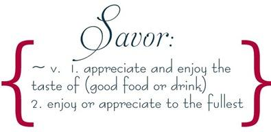 savor definition