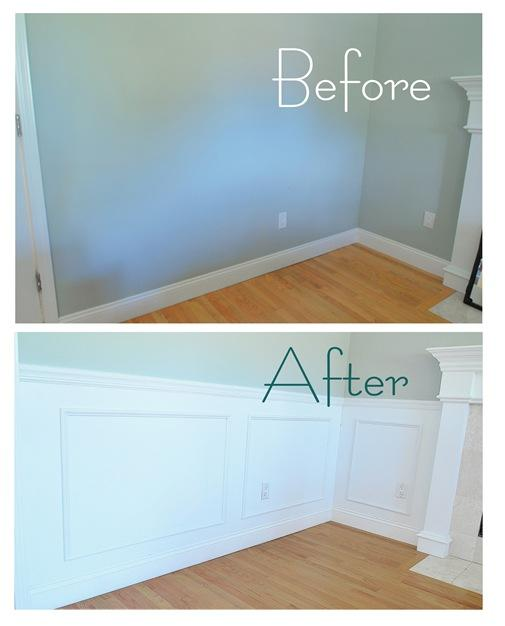 Our Step-by-Step on Panel and Picture Frame Wainscoting, A Quick Recap