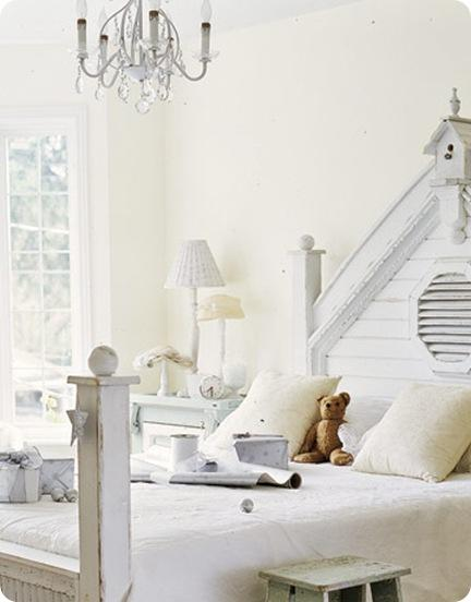 white bedroom country living