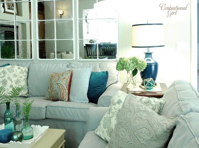 Freshened Family Room Centsational Girl