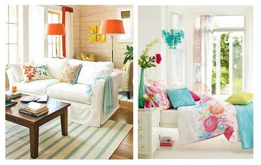 colorful accents