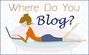 lady blogger button