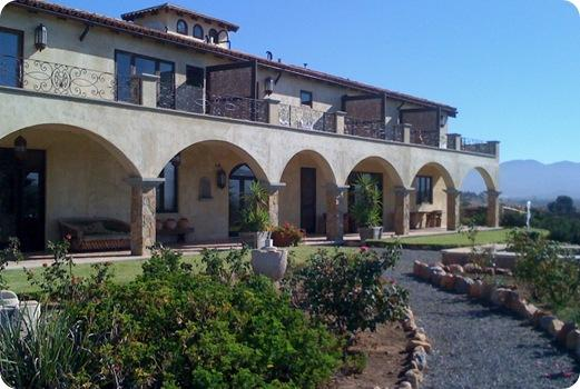 villa backside