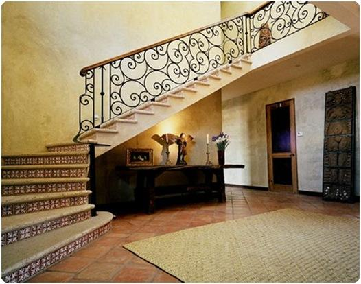 villa foyer