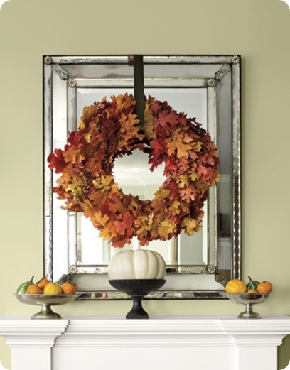 autumn wreath country living