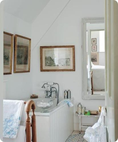 bathroom at home with country
