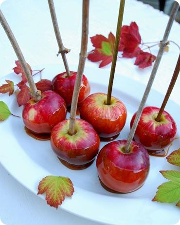 caramel apples for kids