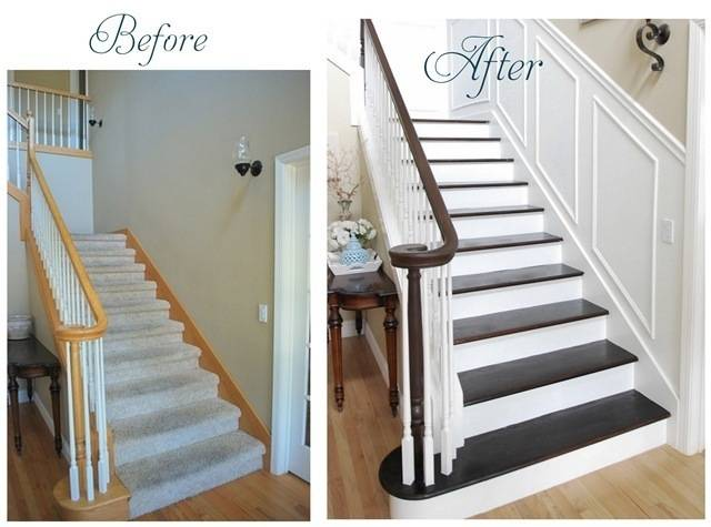 stairs before after