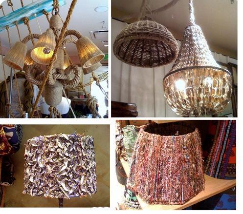 textural light fixtures