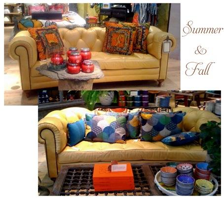 yellow chesterfield by season