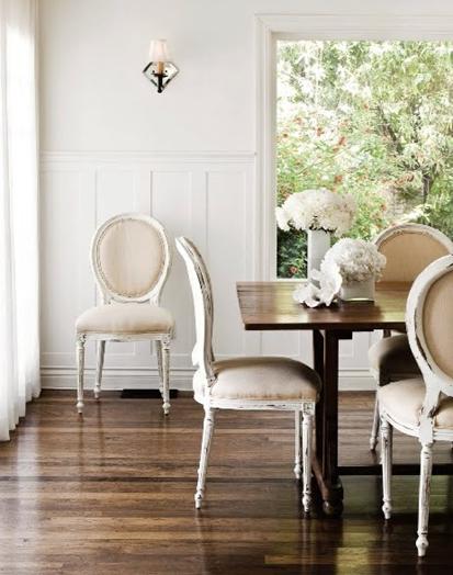 dark wood floors via simply seleta