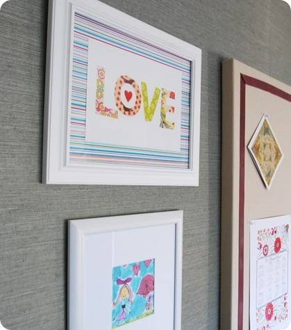 love print made by girl