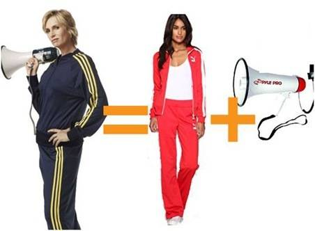 sue sylvester tracksuit
