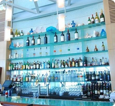 blue tile bar cliff house