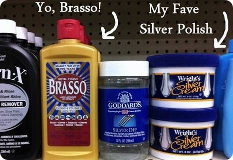 brasso and silver cream
