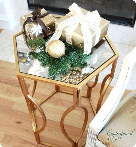 cg gold cocktail table