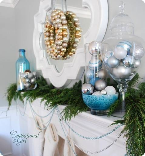 cg holiday mantel apothecary jar